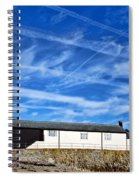Contrails Over The Cobb Spiral Notebook
