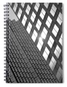 Contrasting Architecture Spiral Notebook