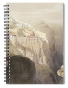 Convent Of St. Saba, April 4th 1839 Spiral Notebook