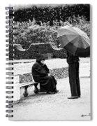 Conversation In The Rain Spiral Notebook