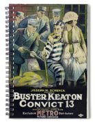 Convict 13 1920 Spiral Notebook