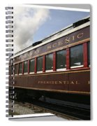 Conway Scenic Railway Spiral Notebook