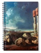 Cook: Easter Island, 1774 Spiral Notebook