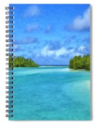 Cook Islands Lagoon Spiral Notebook