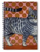 Cookie Cat Spiral Notebook