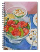 Cookies And Camellias Spiral Notebook