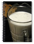 Cookies And Milk Spiral Notebook