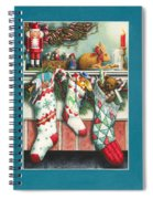Cookies For Santa Spiral Notebook