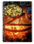 Cooking Meat And Potatoes Spiral Notebook