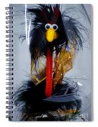 Cookoo Under Glass Spiral Notebook