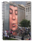 Cool Crowd Spiral Notebook