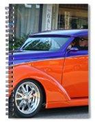 Cool Cruisin  Spiral Notebook