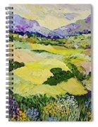 Cool Grass Spiral Notebook