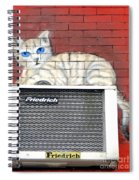 Cool Kitty Spiral Notebook