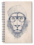 Cool Lion Spiral Notebook