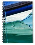 Cool Ocean Blues Spiral Notebook
