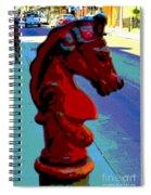 Cool Poster Spiral Notebook