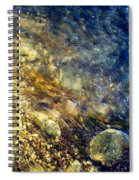 Cool Waters...of The Rifle River Spiral Notebook