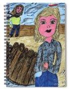 Cooler Weather Cooler Days Spiral Notebook