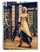 Coolest Cat In Town Spiral Notebook