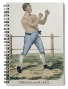 Cooper The Gipsy, Engraved By P Spiral Notebook