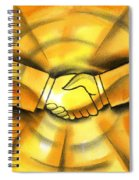 Cooperation Spiral Notebook