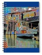 Coos Bay At Berth Spiral Notebook