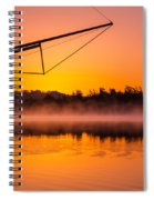 Coos Bay Sunrise II Spiral Notebook