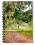 Coosaw At Dusk Spiral Notebook