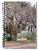 Coosaw Cross Roads With Live Oak Spiral Notebook