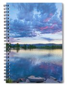 Coot Lake View Spiral Notebook
