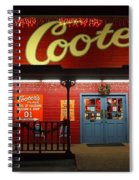 Cooters At Christmas Spiral Notebook