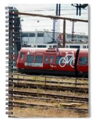 Copenhagen Commuter Train Spiral Notebook
