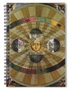 Copernican Universe Spiral Notebook