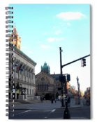 Copley Square - Old South Church Spiral Notebook