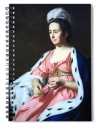 Copley's Abigail Smith Babcock Or Mrs. Adam Babcock Spiral Notebook