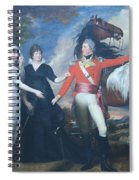 Copley's Colonel William Fitch And His Sisters Sarah And Ann Fitch Spiral Notebook