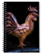 Copper Chicken Spiral Notebook