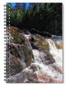 Copper Falls Spiral Notebook