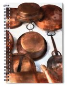 Copper - Featured In Inanimate Objects Group Spiral Notebook
