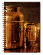 Copper Spiral Notebook