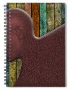 Copper Man Spiral Notebook