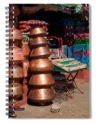Copper Pots Spiral Notebook
