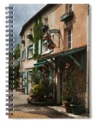 Copper Sales Store Durfort France Spiral Notebook