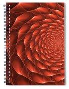 Copper Spiral Vortex Spiral Notebook
