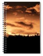 Copper Sunset Spiral Notebook
