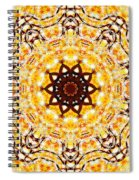 Copper Winter Spiral Notebook