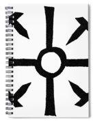 Coptic Cross Spiral Notebook