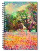 Coquelicots Spiral Notebook
