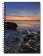 Coral Cove Beach At Dawn Spiral Notebook